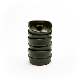 Wildo Fold-A-Cup Set Unicolor 6x Olive